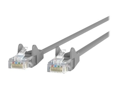 Belkin Cat6 UTP Patch Cable, Gray, Snagless, 5ft, A3L980-05-S