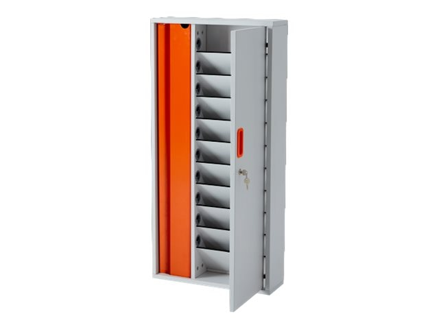 LapCabby 10-Unit Lyte Wall 10 Charging Station