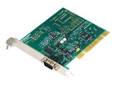 Quatech 1-port Optically Isolated Midport Universal PCI Card, 3PCIOU1, 13330640, Network Adapters & NICs