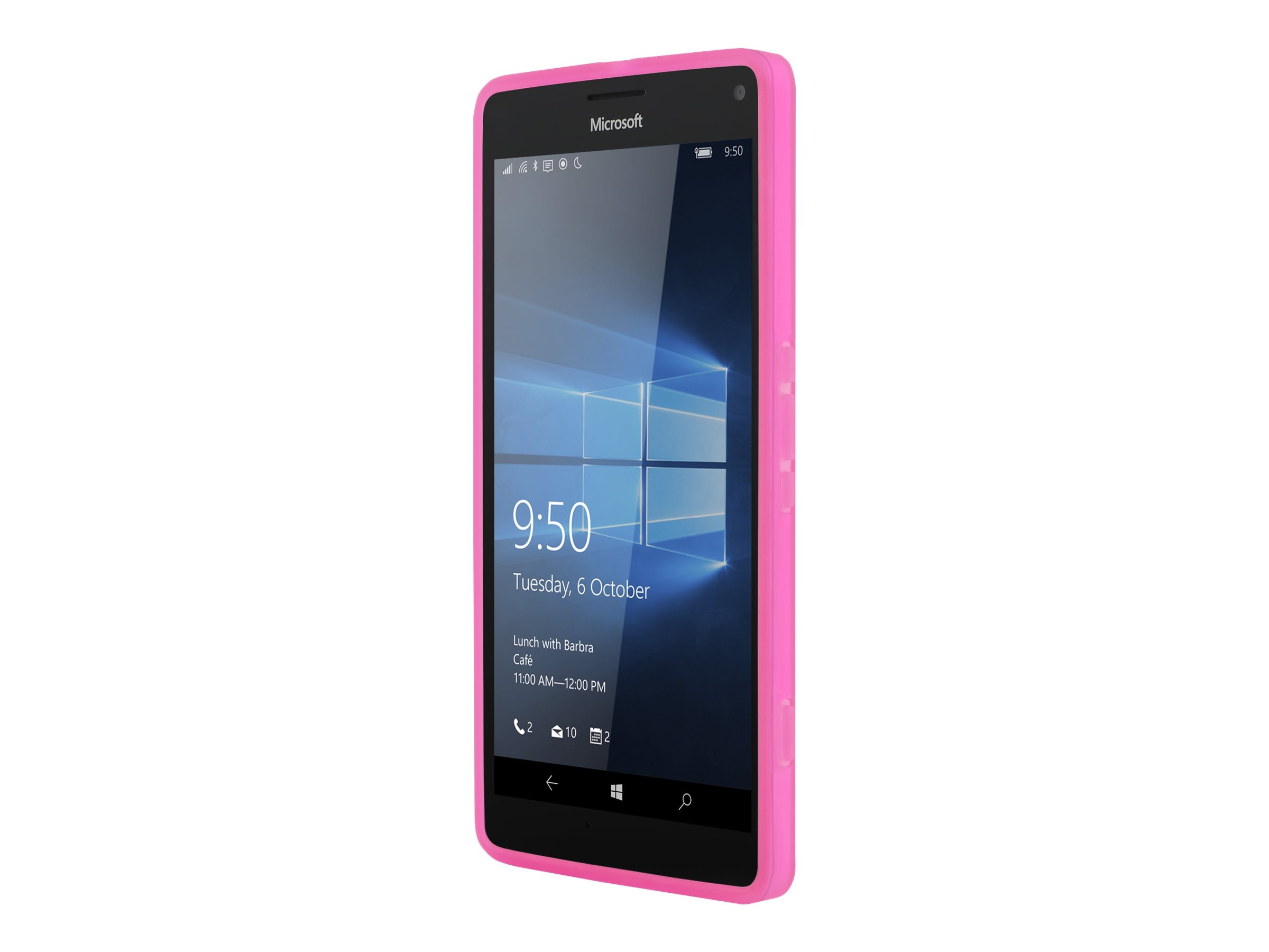 Incipio NGP Flexible Impact Resistant Case for Microsoft Lumia 950 XL, Pink