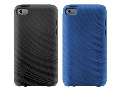 Belkin Essential 023 Case for iPod Touch 4G, Blacktop & Civic Blue (2-Pack)
