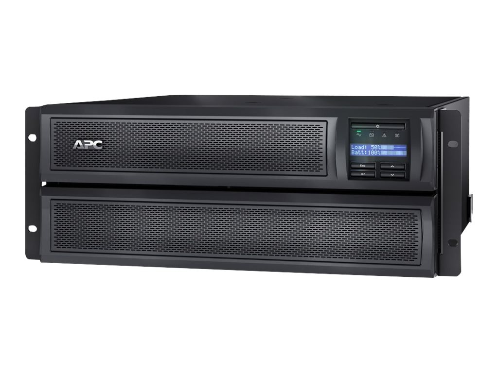APC Smart UPS X 3000VA Line-interactive LCD R T 100 127V NEMA L5-30P Input w  Network Card, SMX3000LVNC, 15977674, Battery Backup/UPS