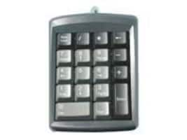 Global Marketing Partners 18-Key USB PS 2 Micropad 631 Numeric Keypad Win Mac Genovation, 631, 6600509, Keyboards & Keypads