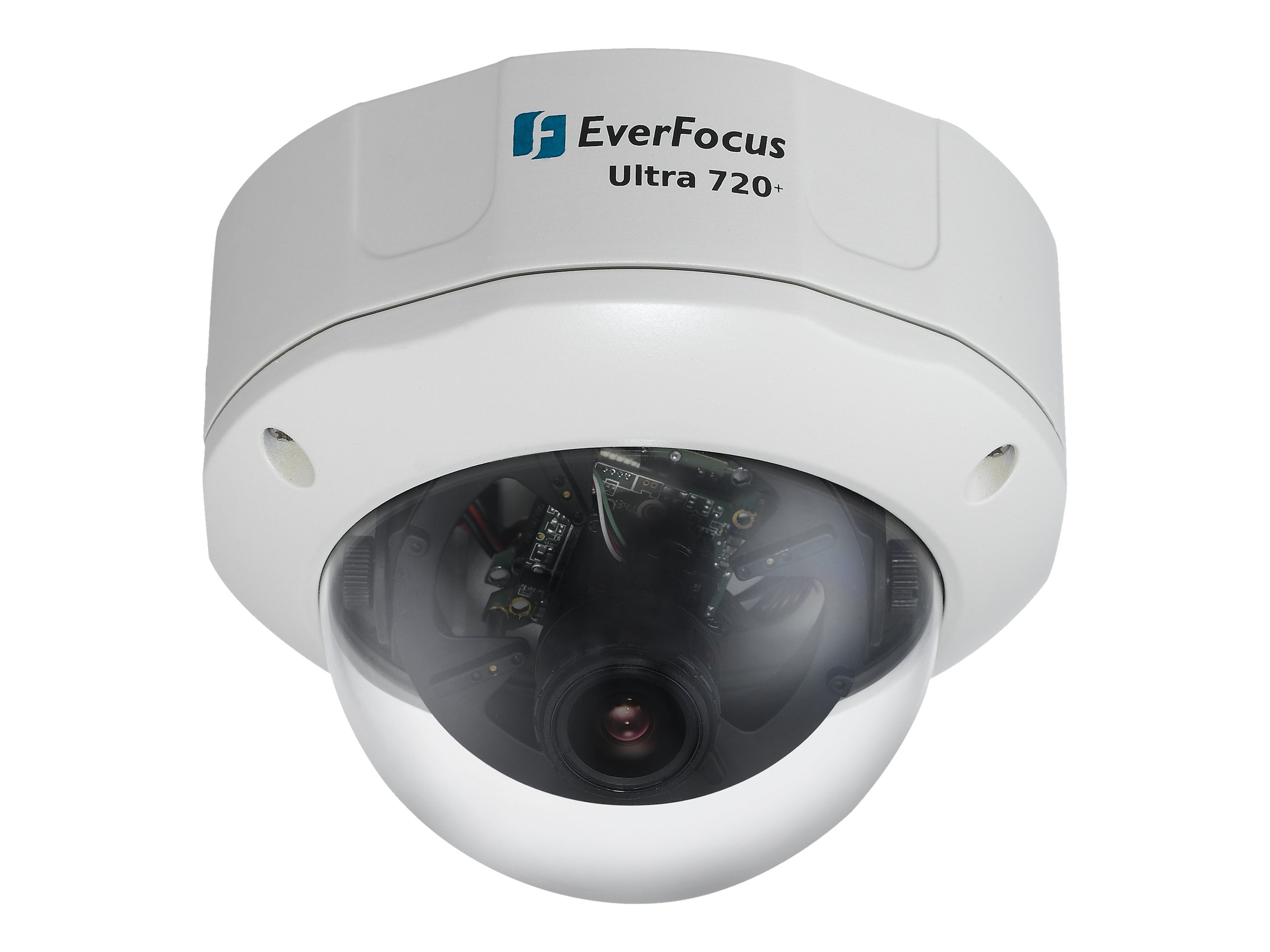 Everfocus EHD700 - Outdoor True Day Night 3-Axis Vandal Dome Camera, EHD700, 14929662, Cameras - Security