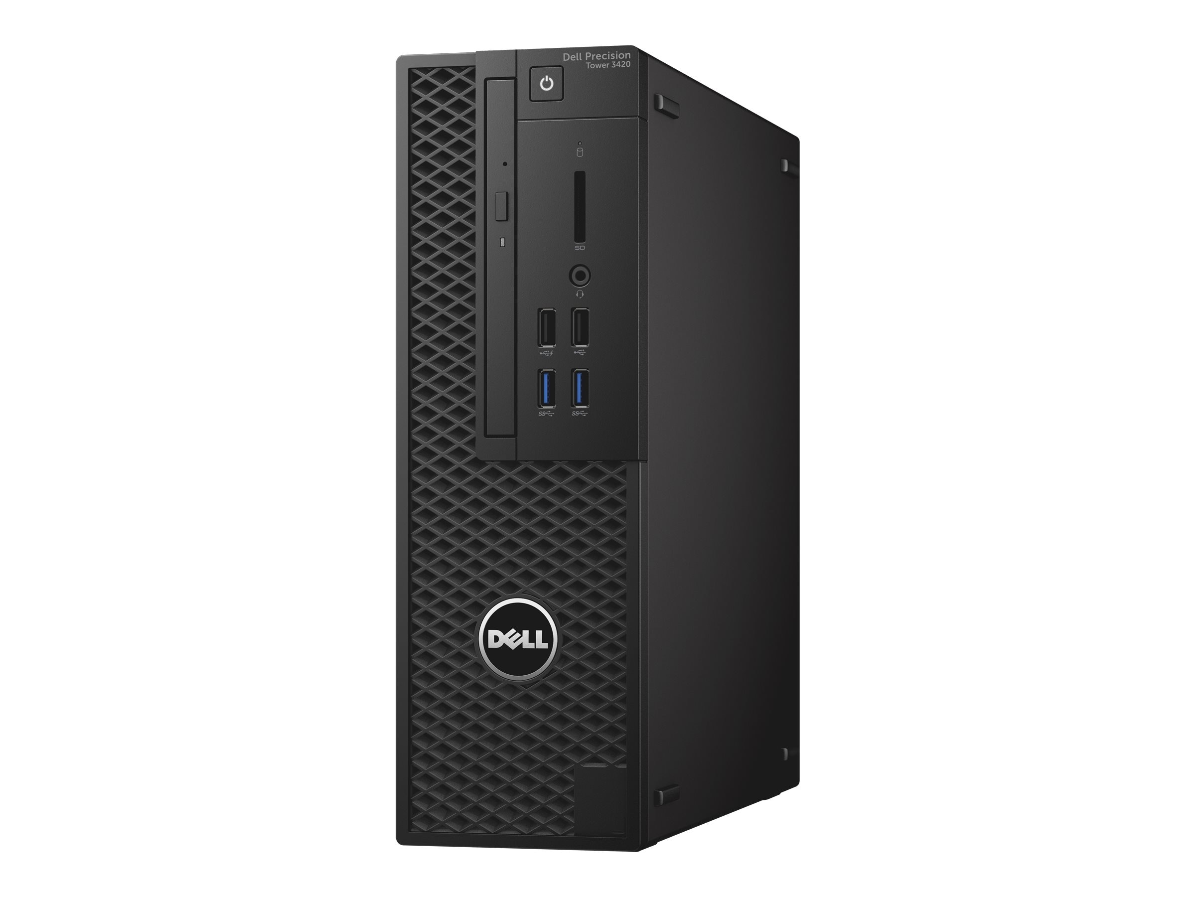 Dell Precision 3420 SFF Core i7-6700 3.4GHz 8GB 1TB HD530 DVD-ROM GbE W7P64-W10P, CRD56, 31867053, Workstations