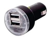 Digipower 2.1 Amp Dual USB Car Charger, White, IE-PCP2U-WT, 17046101, Battery Chargers