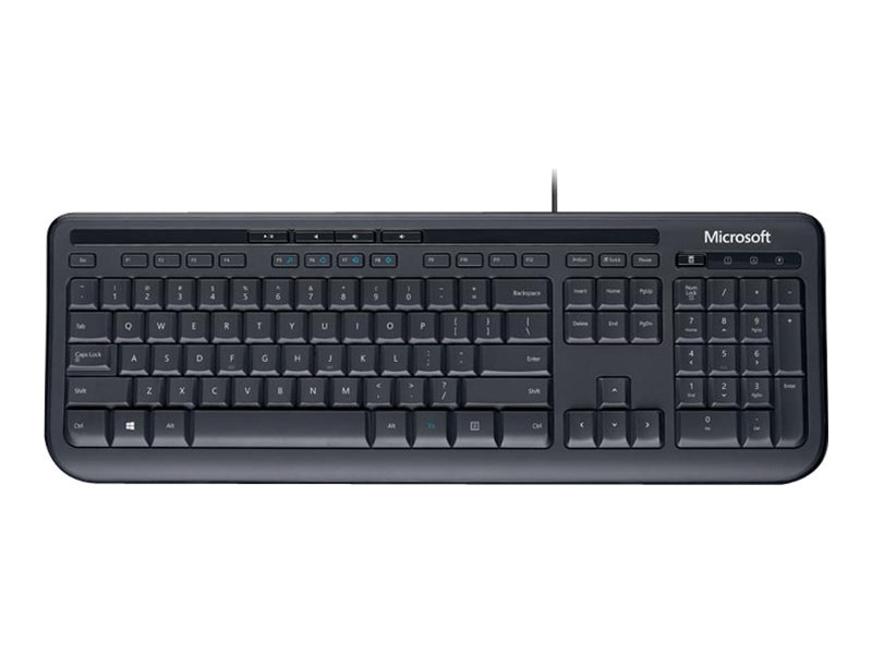 Microsoft Wired Keyboard 600, Black, ANB-00001