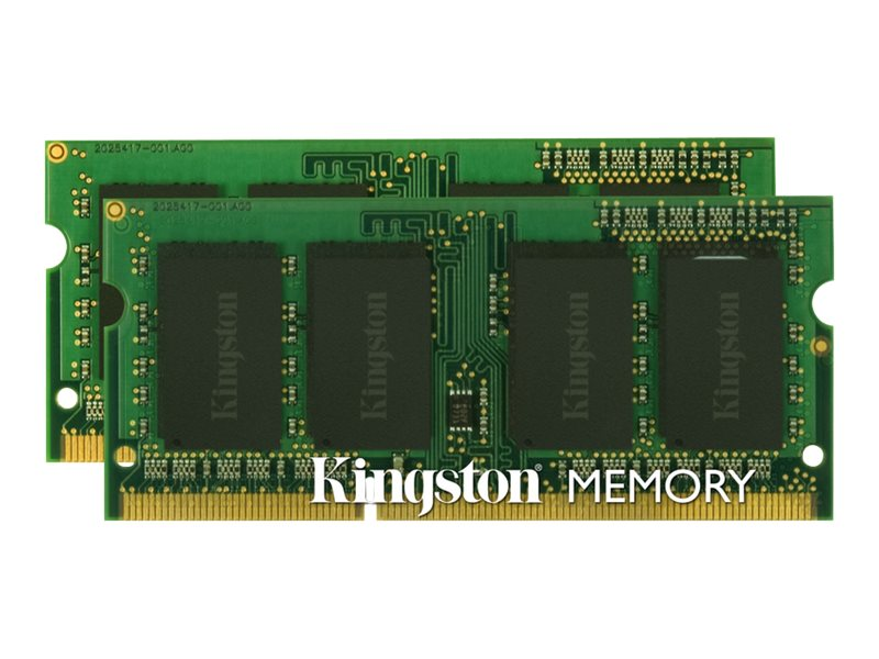 Kingston 16GB PC3-12800 204-pin DDR3 SDRAM SODIMM Kit for iMac, Mac Mini, MacBook Pro, KTA-MB1600LK2/16G, 17463247, Memory