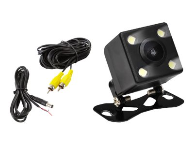 Pyle Rear View Camera with 4 Led Lights, PLCM4LED