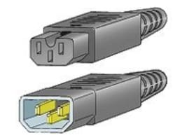 Cisco Jumper Power Cord for MDS Products, C14 (M) to C15 (F), CAB-C15-CBN=, 8061334, Power Cords