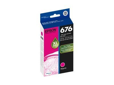 Epson Magenta 676XL Ink Cartridge, T676XL320
