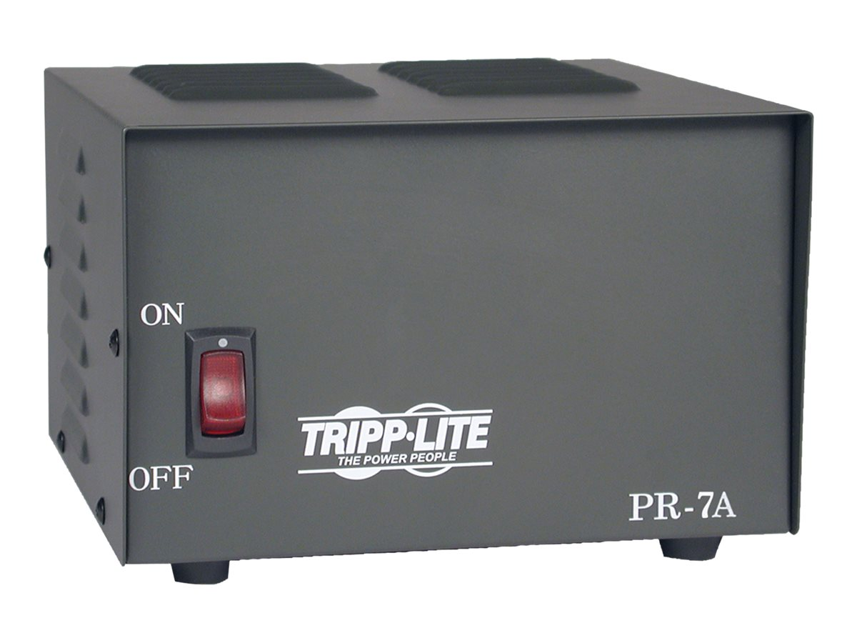 Tripp Lite 7-Amp DC Power Supply 120VAC Input to 13.8VDC Output