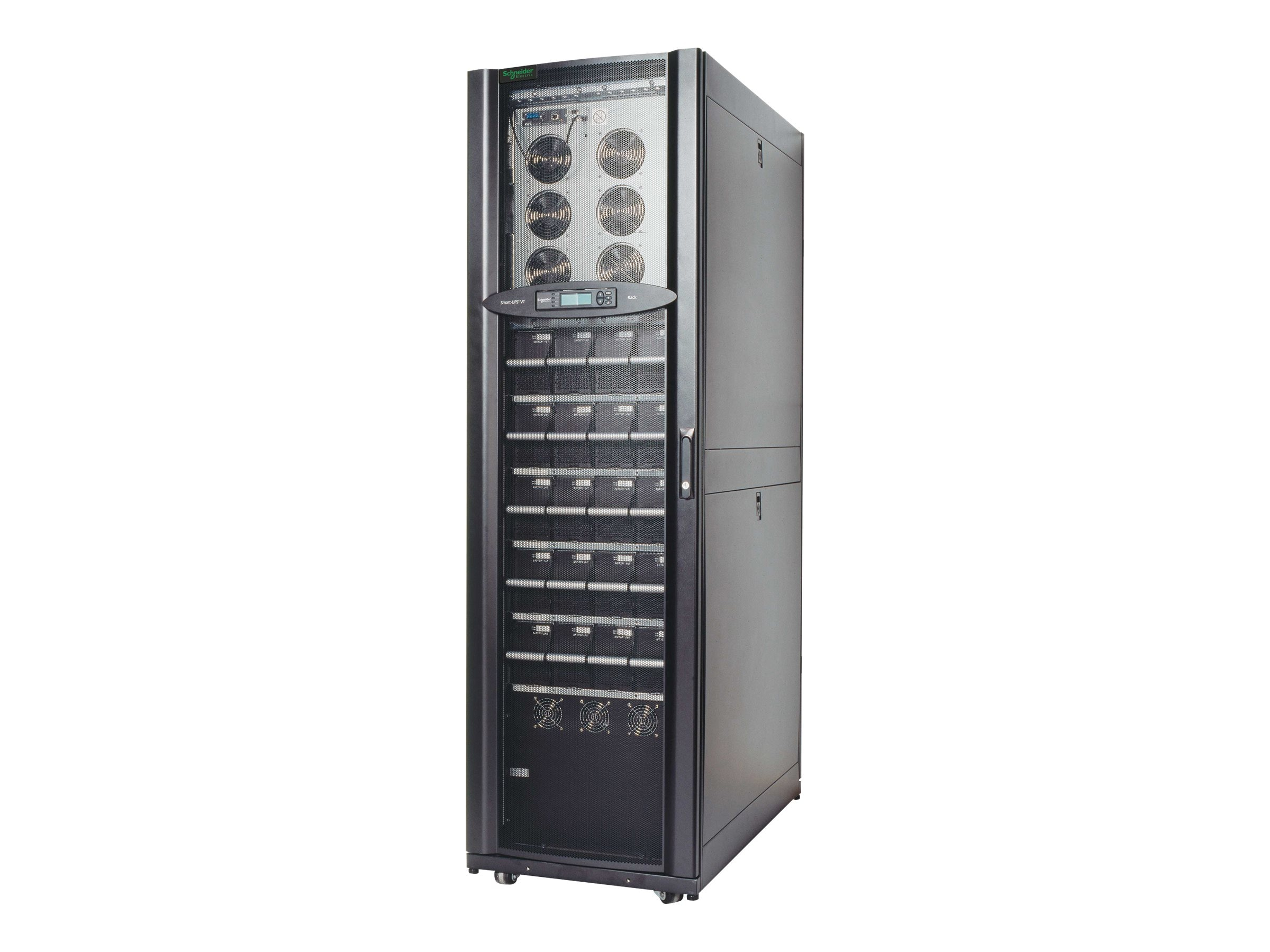 APC Smart-UPS VT 20kVA RM, 480V Input, 208V Output, (2) Battery Modules Expandable to (5), PDU, Startup, SUVTR20KG2B5S, 7962376, Battery Backup/UPS