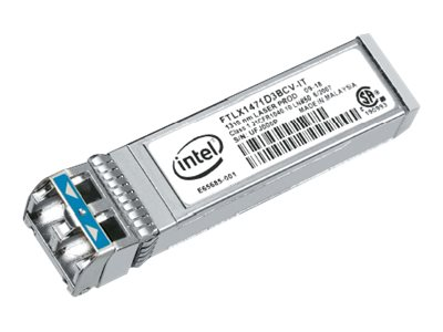 Intel Ethernet SFP+ LR Optics Module, E10GSFPLR, 10821566, Network Transceivers