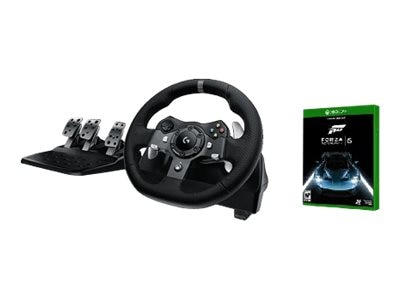 Logitech G920 Driving Wheel for Xbox One and PC, 941-000121-K, 30719278, Video Gaming Accessories