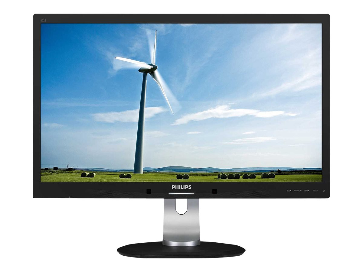 AOC 27 2S4LPJCB Quad HD LED-LCD Display, Black, 272S4LPJCB, 17933691, Monitors - LED-LCD