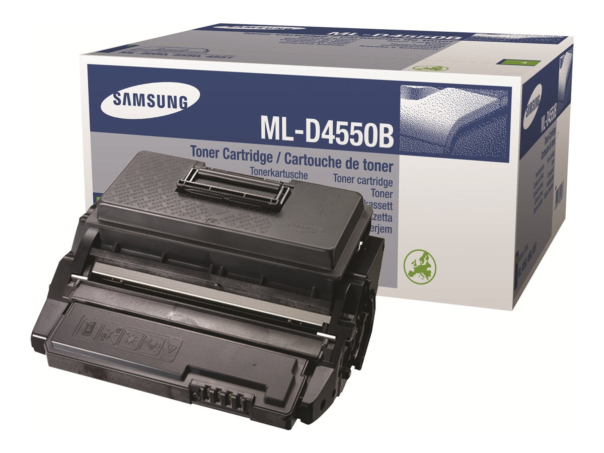 Samsung Black Toner Cartridge for Samsung ML-4550 Series Printers, ML-D4550B, 7146555, Toner and Imaging Components