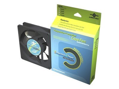 Vantec Thermoflow 60x60x25mm Double Ball Bearing Temperature Controlled Case Fan