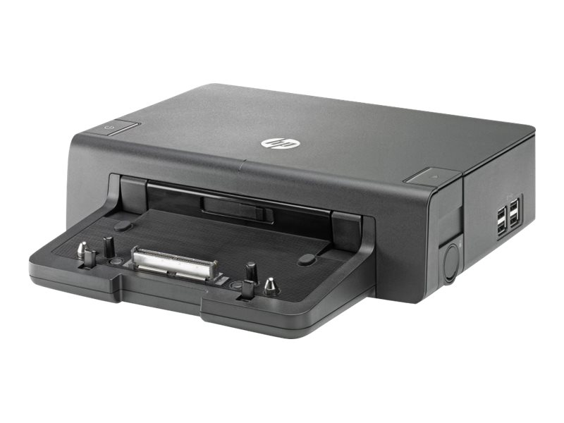 HP 2012 120W Advanced Docking Station, A7E36UT#ABA, 14436251, Docking Stations & Port Replicators