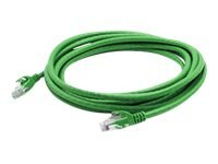 ACP-EP CAT6A UTP Snagless Copper Patch Cable, Green, 4ft