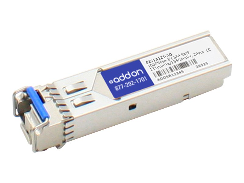 ACP-EP SFP 20KM BX LC XCVR 0231A12T TAA XCVR 1-GIG BIDI SMF LC Transceiver for HP, 0231A12T-AO
