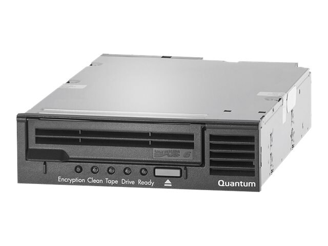 Quantum LTO-6 HH SAS 6Gb s Model C 5.25 Internal Tape Drive - Black w  SAS HBA, TC-L62AN-EZ-C