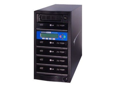 Kanguru™ 5 Target BluRay 12x Duplicator w  Built-in Hard Drive, BR-DUPE-S5, 10056542, Disc Duplicators
