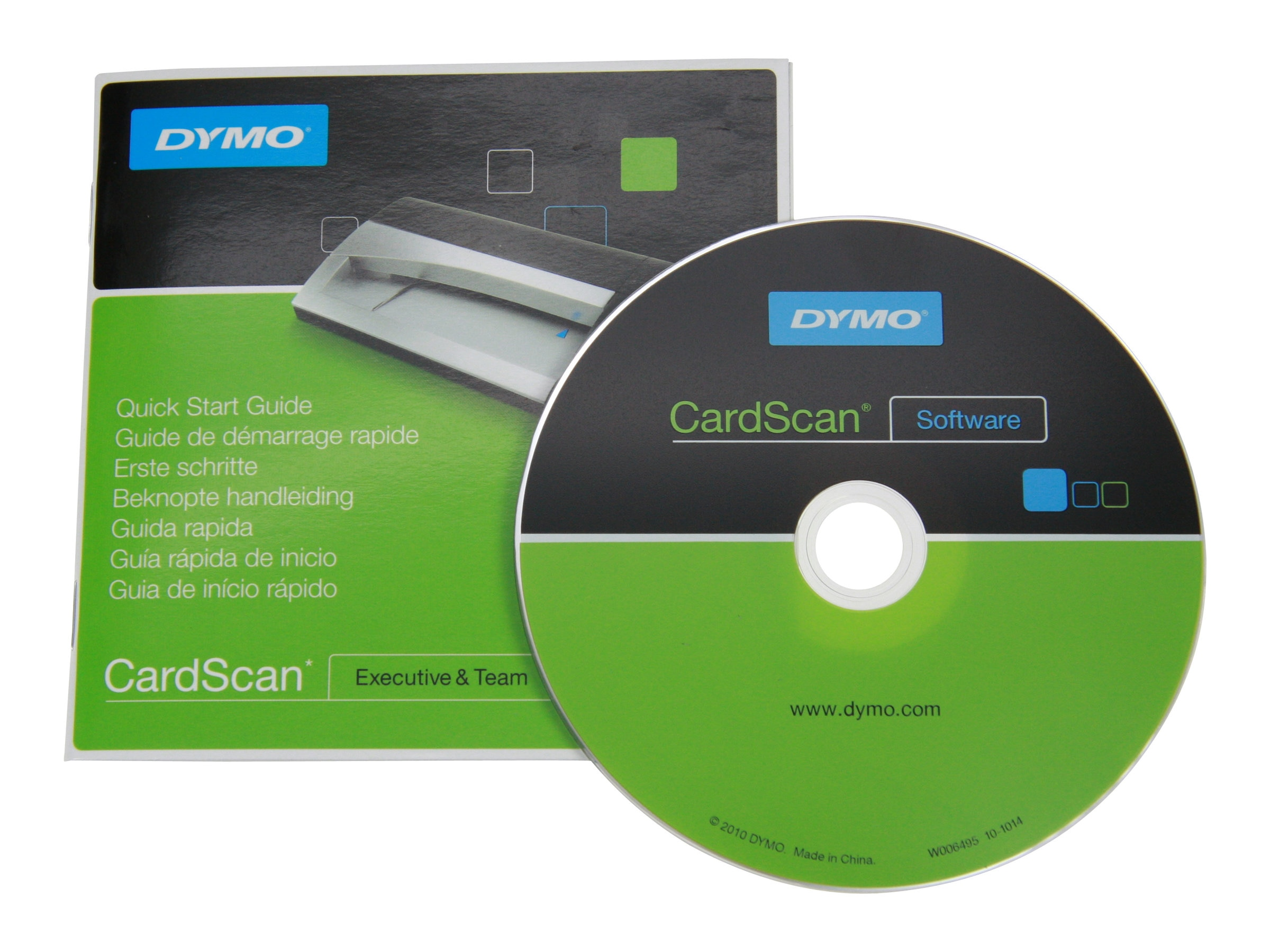 DYMO CardScan Team 9.0 1-user SW CD-ROM, 1806066, 14506150, Software - OCR & Scanner