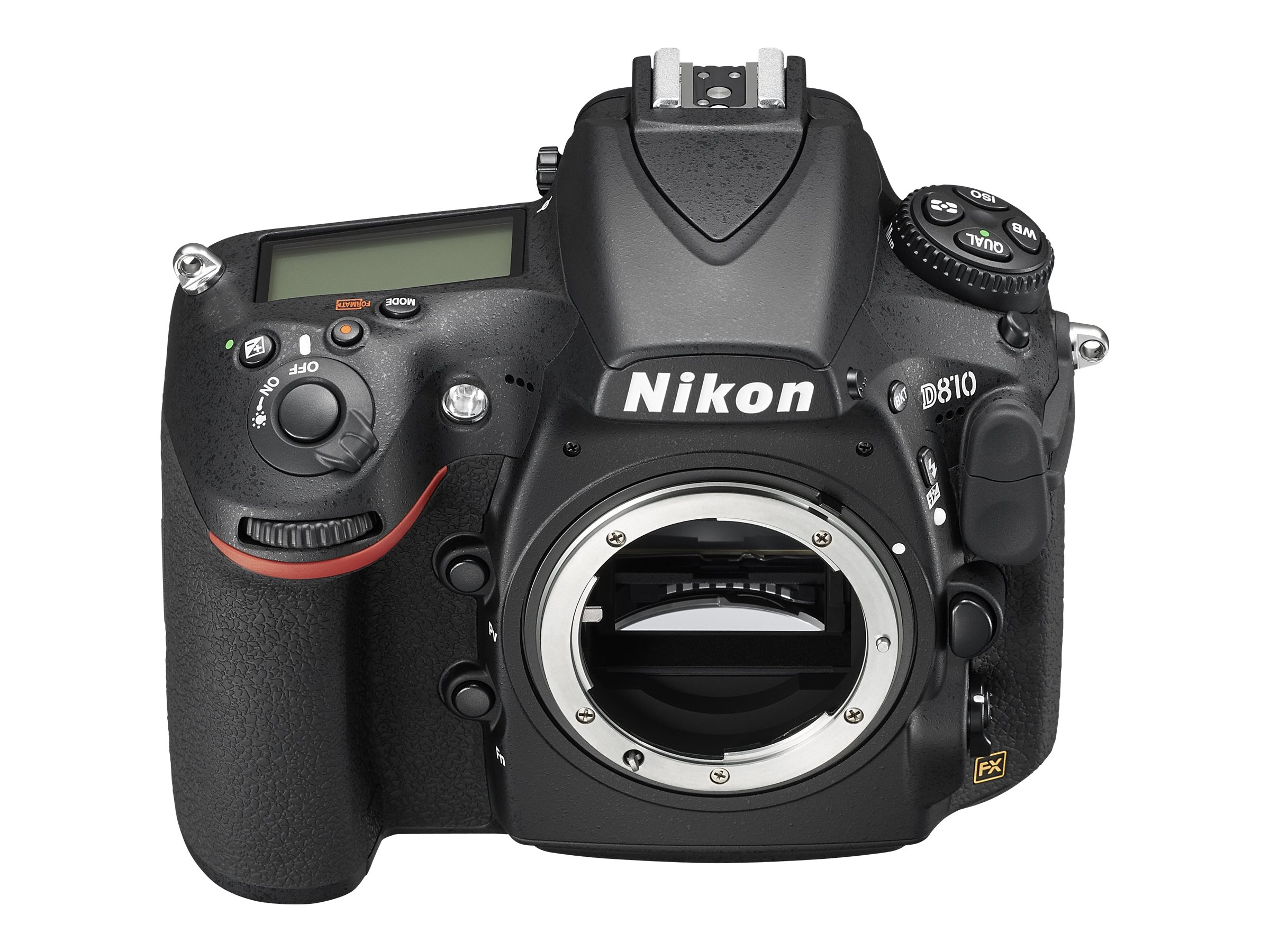 Nikon D810 DSLR Camera, Black (Body Only), 1542, 17994996, Cameras - Digital - SLR