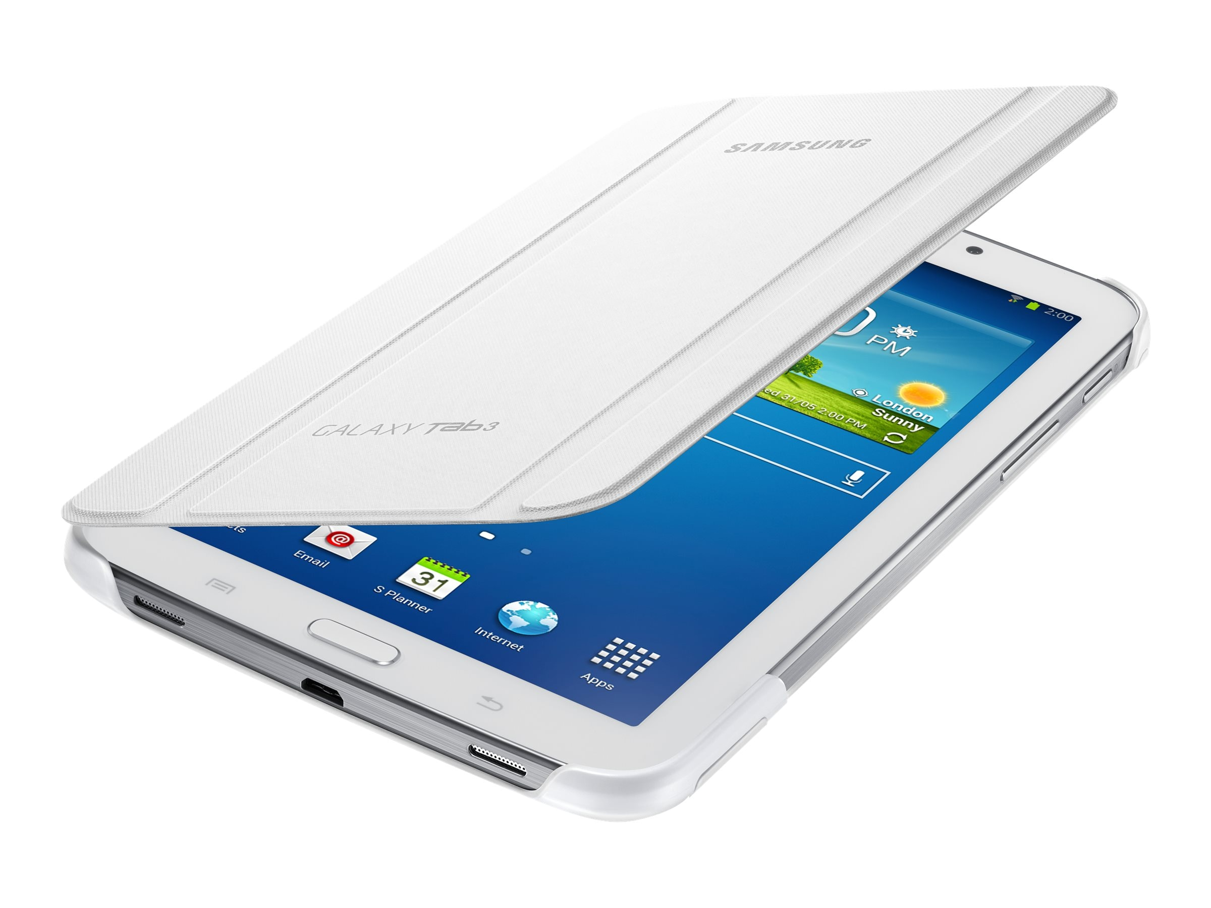 Samsung Book Cover for Tab A 7, White