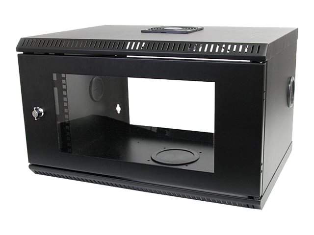 StarTech.com 6U x 22d Hinged Open Frame Wall Mount Server Rack, RK619WALLOH, 15063549, Racks & Cabinets