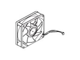 Lexmark Engine Board Fan and Cable for C925de, C925dte & X925de Printers, 40X6427, 15873841, Cooling Systems/Fans