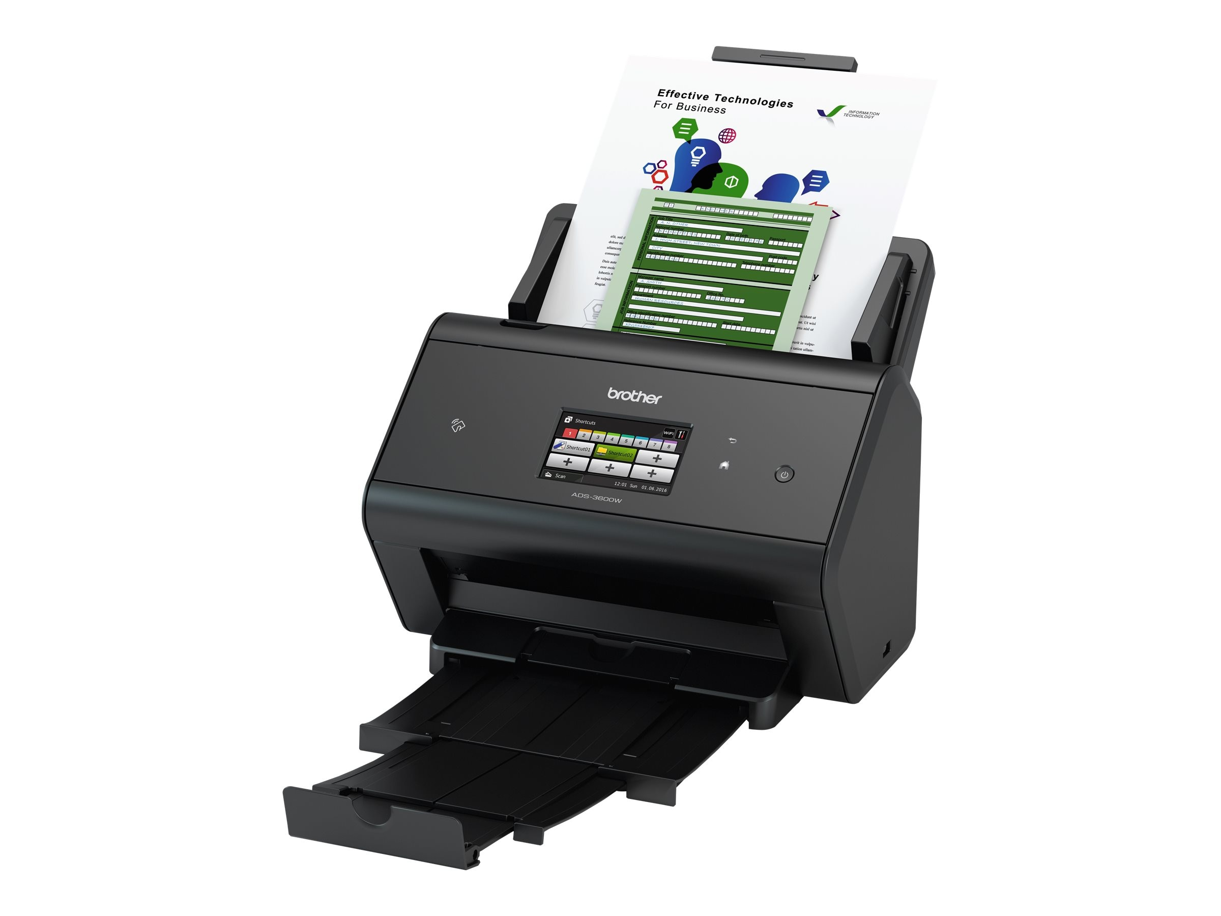 Brother Network Document Scanner, ADS-3600W