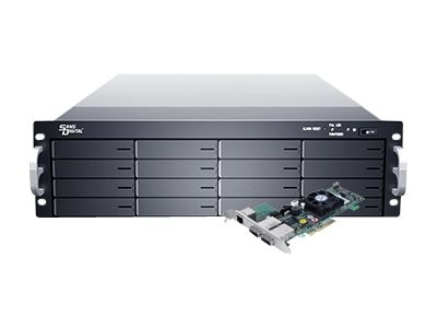 Sans Digital ES316X6+BHP 3U 16-Bay SAS Enclosure w  RAID PCIe Card, KT-ES316X6+BHP, 17335325, Hard Drive Enclosures - Multiple