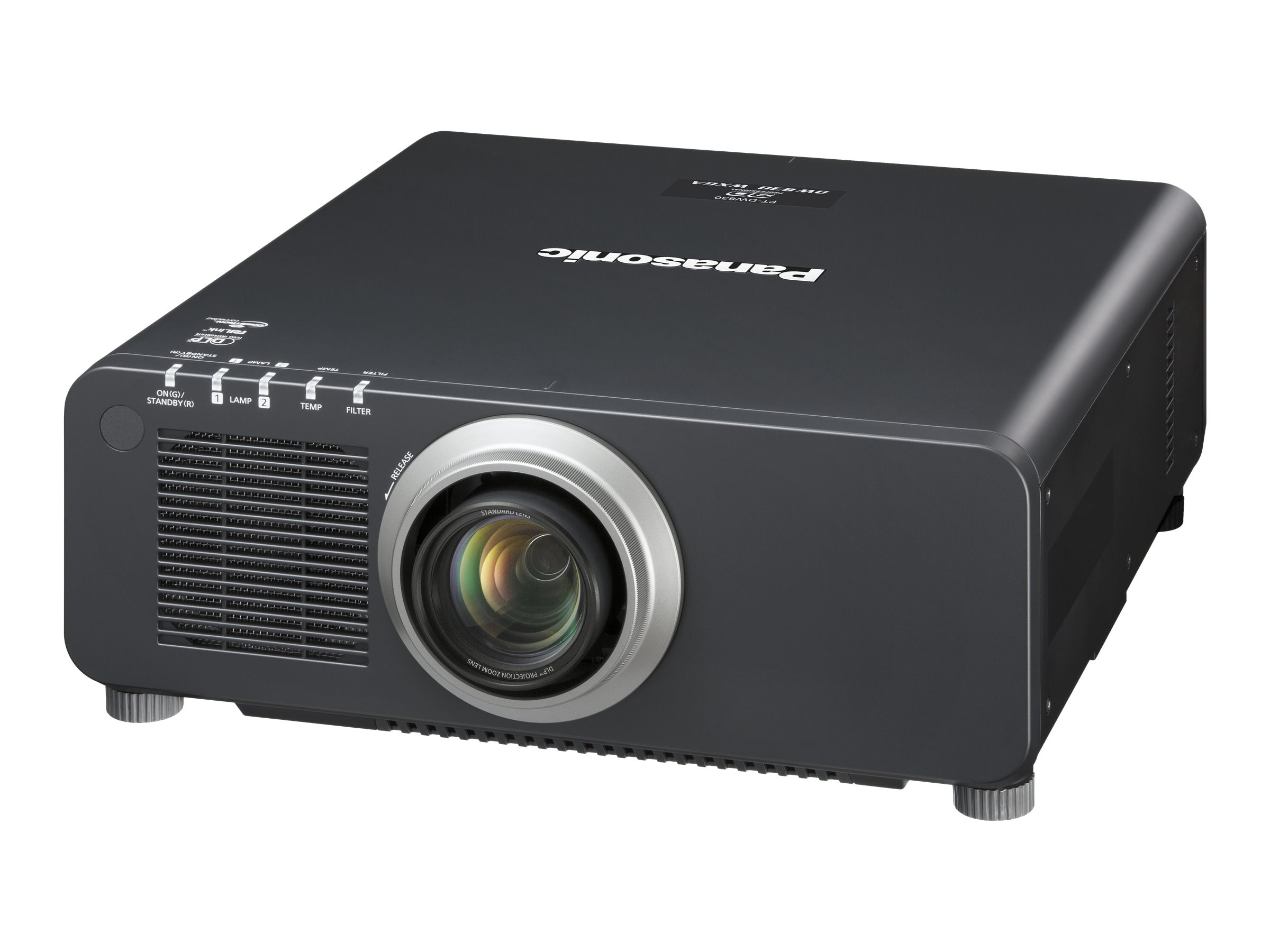 Panasonic PT-DW830UK WXGA DLP Projector, 8500 Lumens, PT-DW830UK, 15950367, Projectors