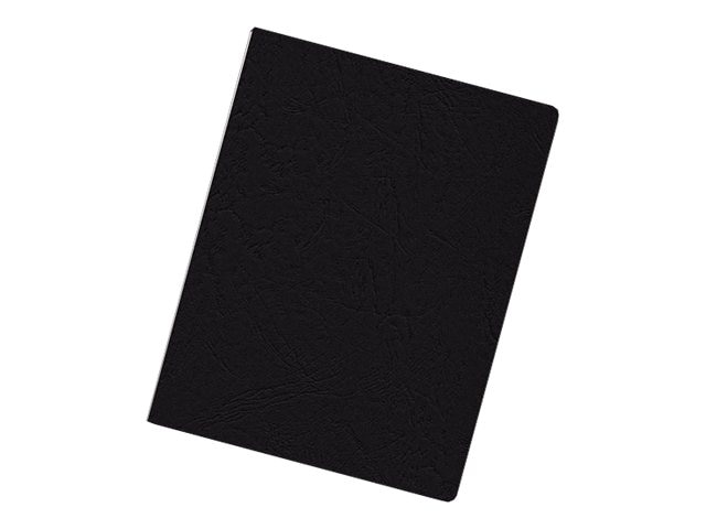 Fellowes Linen Binding Cover, Oversize, Black, 200 Pack, 52138, 8172931, Office Supplies