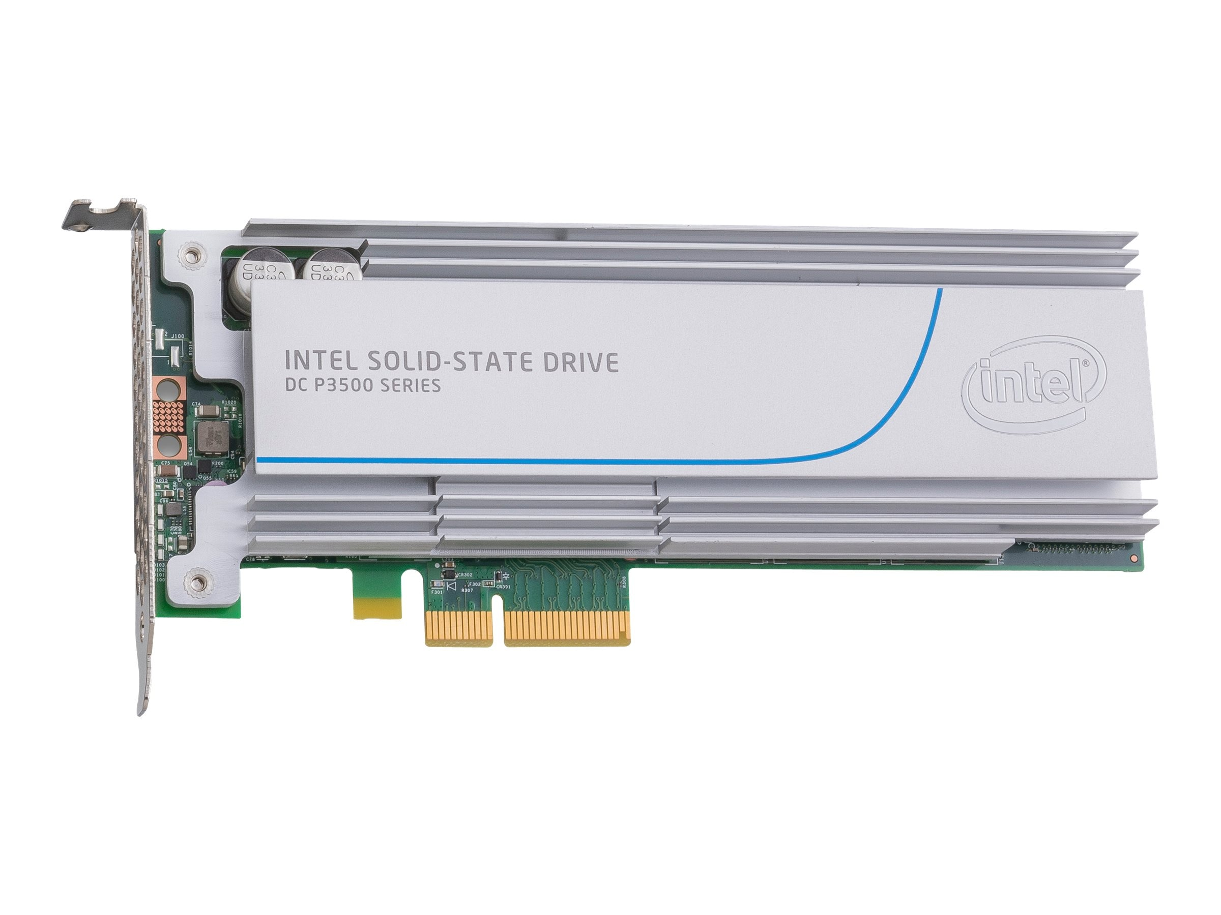 Intel 400GB DC P3500 Series Half Height Solid State Drive, SSDPEDMX400G401, 20137848, Solid State Drives - Internal