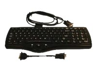 LXE Windows Laptop Style 95 Key Rugged Keyboard w  Integrated 2 Button, VX89153KEYBRD, 16496741, Keyboards & Keypads