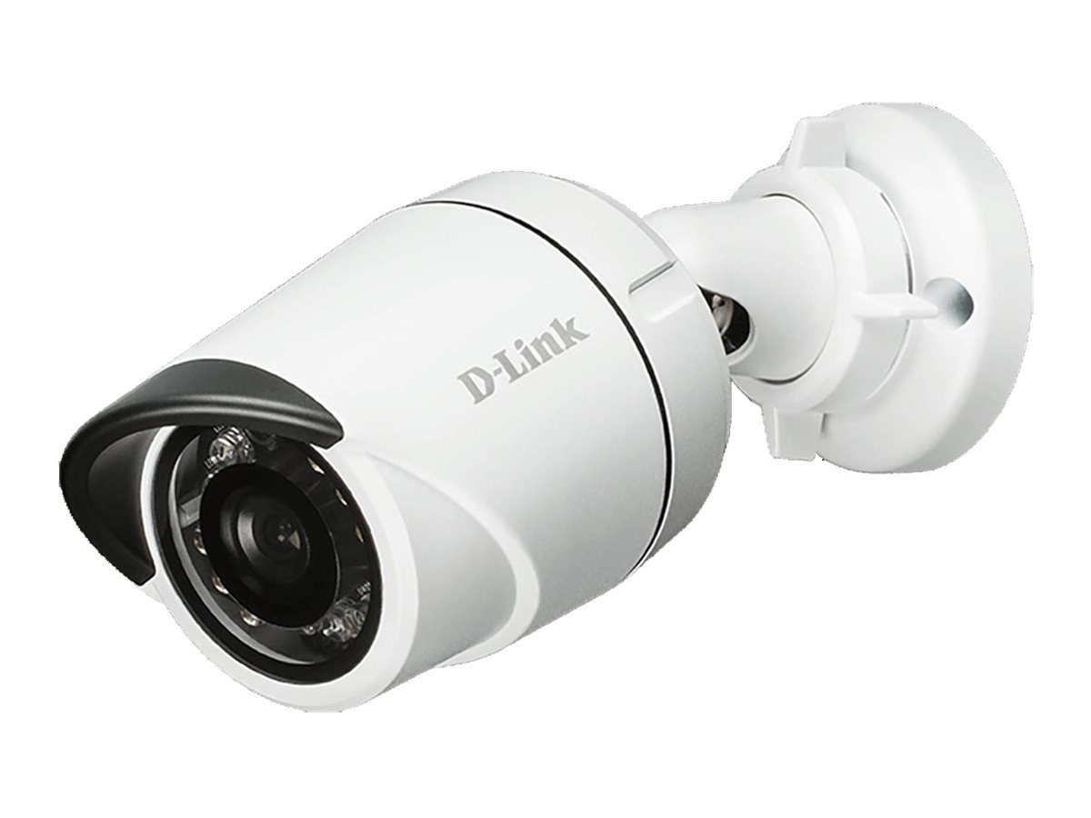 D-Link HD Outdoor Mini Bullet Camera, White