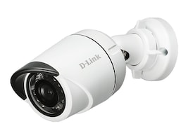 D-Link HD Outdoor Mini Bullet Camera, White, DCS-4701E, 30564018, Cameras - Security