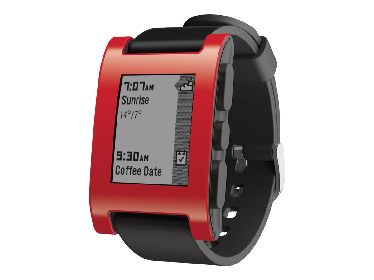 Pebble Smartwatch, Red