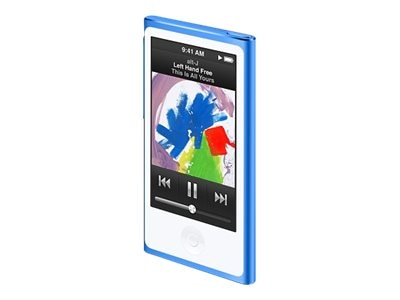 Apple 16GB iPod nano - Blue, MKN02LL/A, 25875065, DMP - iPod Nano
