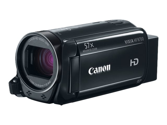 Canon VIXIA HF R700 Full HD Camcorder, Black