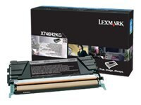 Lexmark Black High Yield Toner Cartridge for X746de & X748 Series Color Laser MFPs