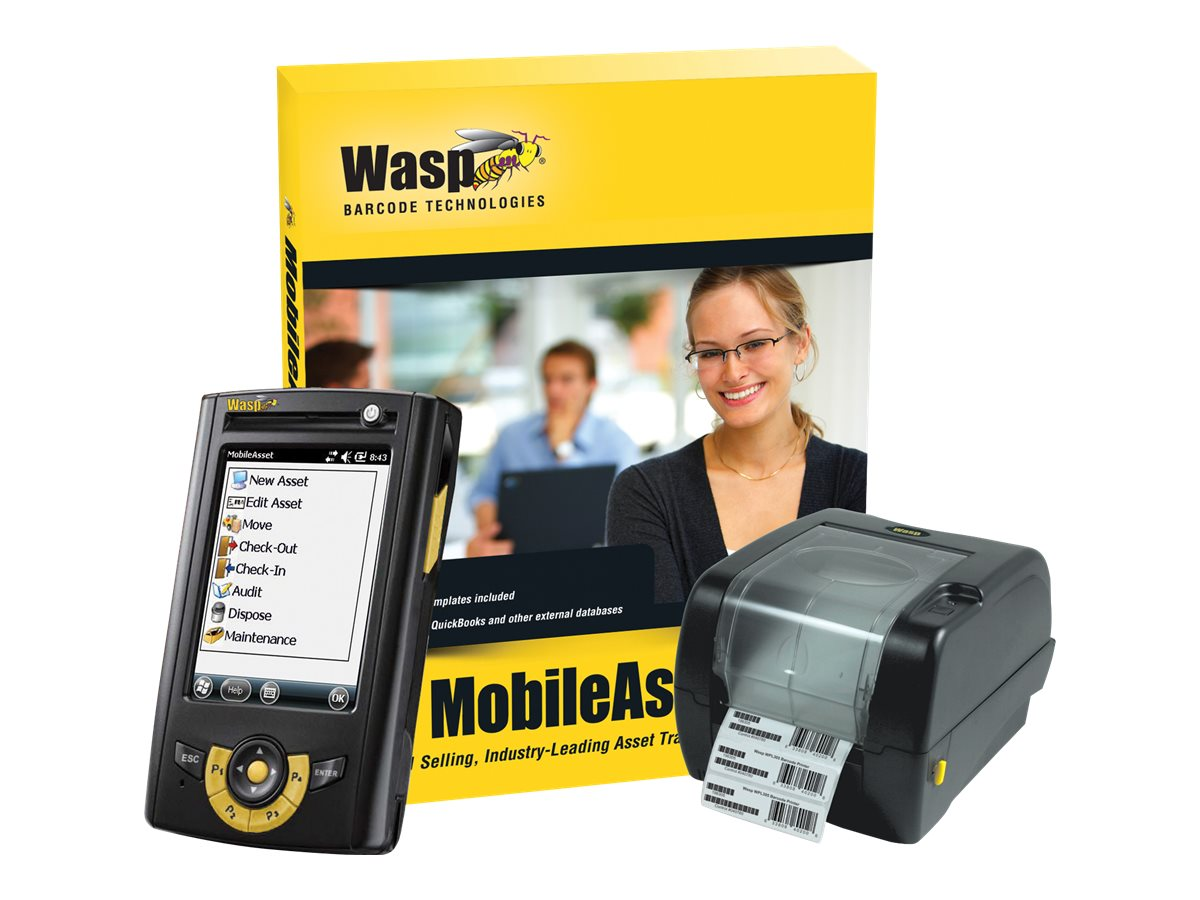 Wasp MobileAsset Standard with HC1 & WPL305 (1-user), 633808927806, 17410903, Portable Data Collector Accessories