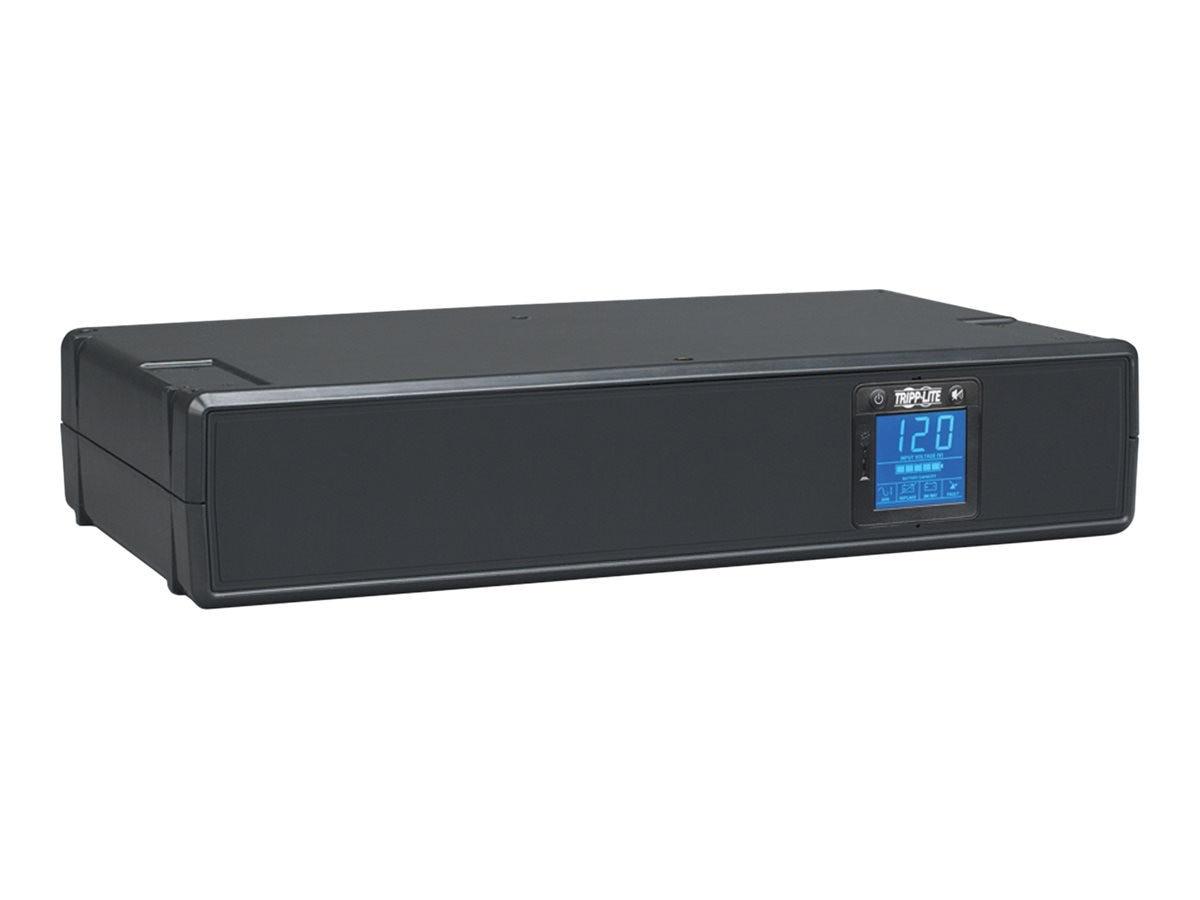 Tripp Lite 1200VA UPS Smart Pro Rack Tower Line Interactive (8) Outlets, SMART1200LCD, 6343207, Battery Backup/UPS