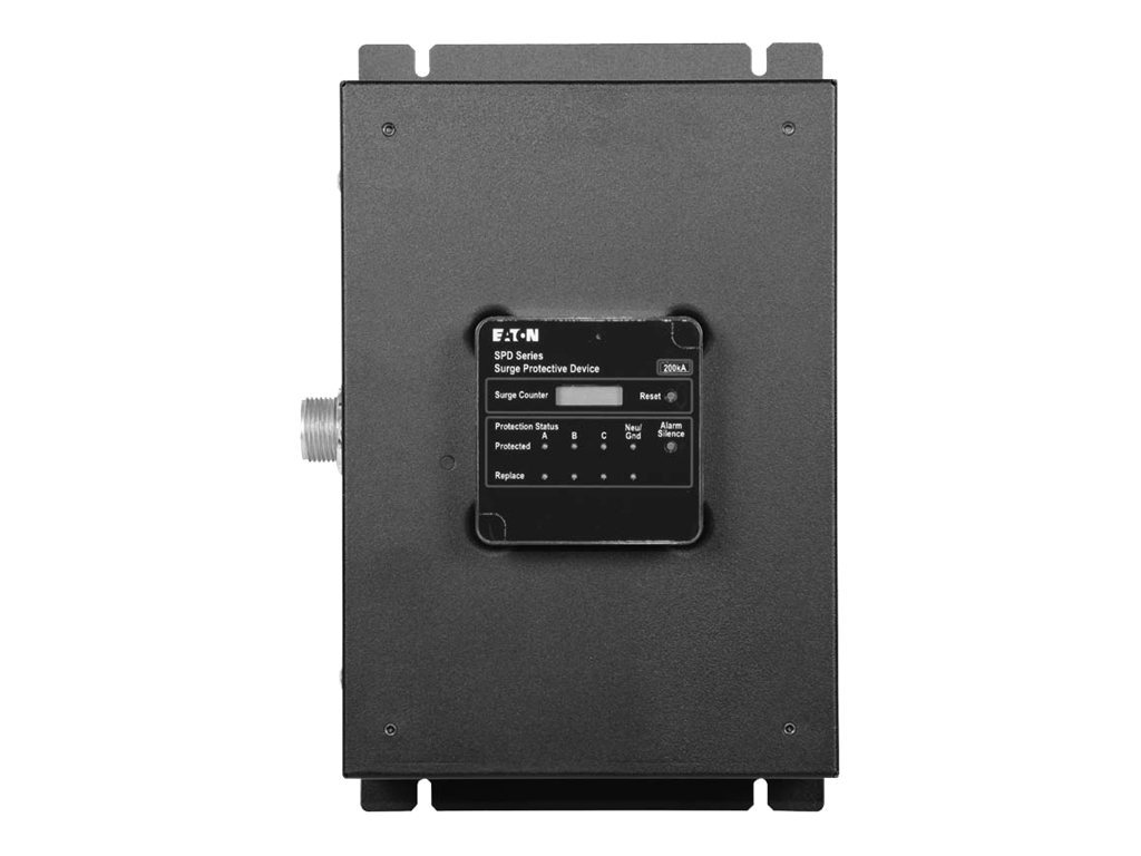 Eaton SPD 100kA 120 240 Single Split Phase Standard Feature Package NEMA 1 Enclosure, PSPD100240S2K, 12525015, Surge Suppressors