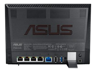 Asus 802.11ac Dual-Band Wireless-AC1200 Gigabit Router, RT-AC56U