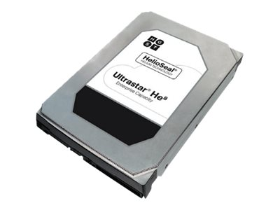 HGST 6TB Ultrastar He8 SATA 6Gb s Ultra 4KN ISE 3.5 Internal Hard Drive, 0F23663