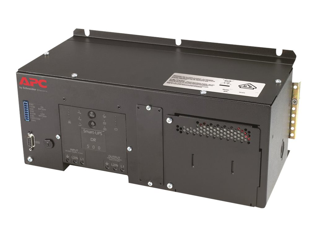 APC DIN Rail Panel Mount UPS with High Temp Battery 500VA 230V, SUA500PDRI-H, 16240501, Battery Backup/UPS